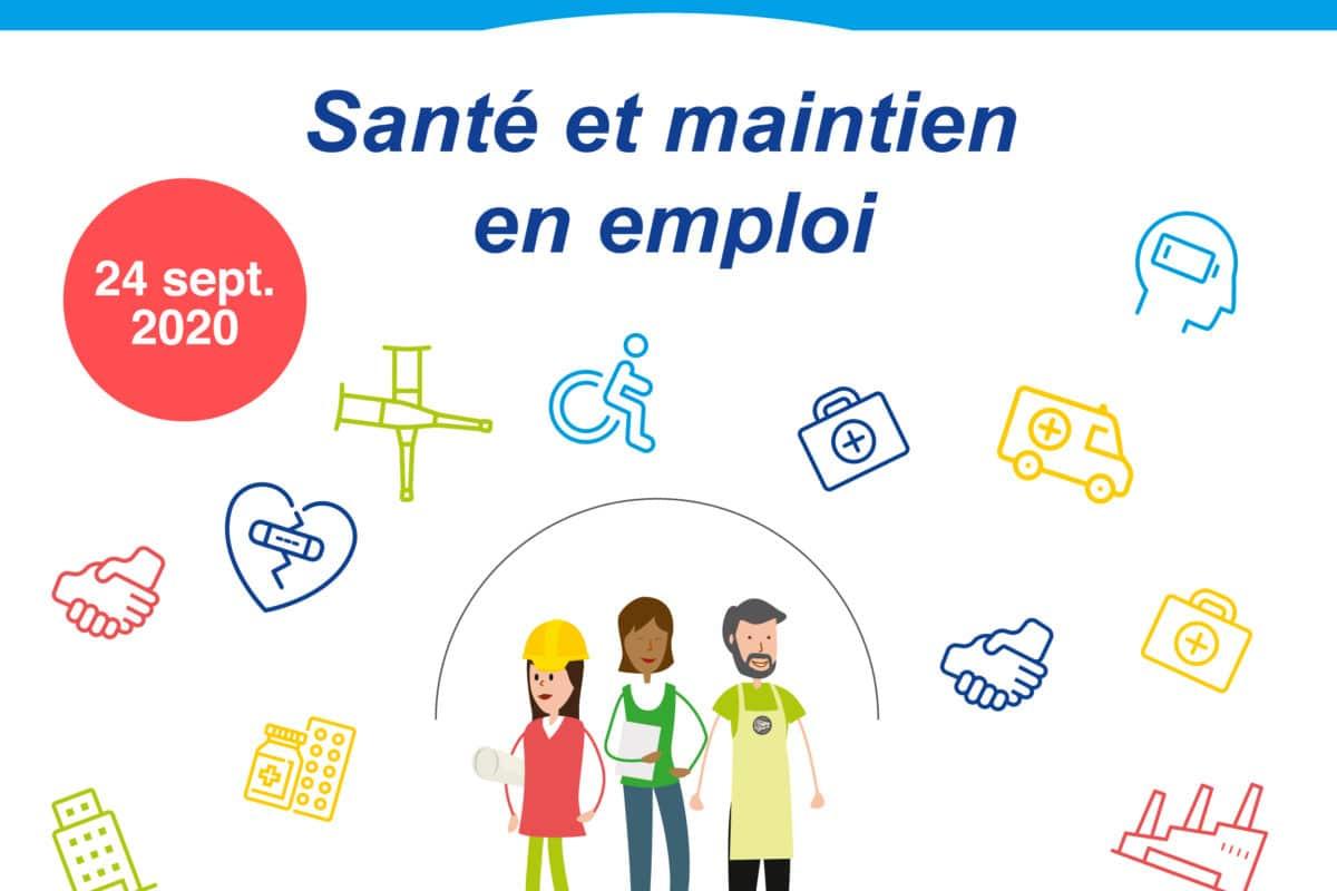 Webinaire «Prévention en actions – Maintien dans l'emploi»